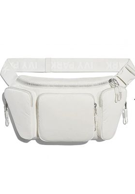 Icy park - white waist bag
