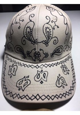 Bandana cap   WITH removable FACE SHIELD