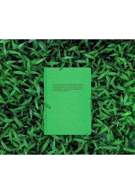 PANGAIA| Free tree notebook |jade green