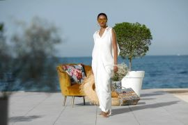 by Fatma Alsalem | one size | white dress #2