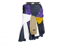 Sacai X nike  | skirt purple |