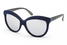 velvet sunglasses | navy