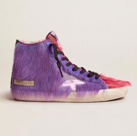 Golden goose - Limited Edition lilac and pink pony skin