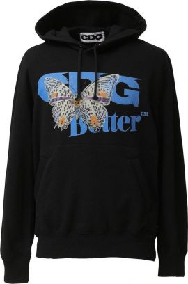 Butterflies Hooded  | black