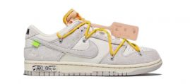 Nike dunk low X off  white - lot 39 yellow