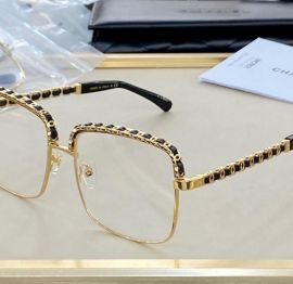 Chanel -chains frams  Clear Glasses