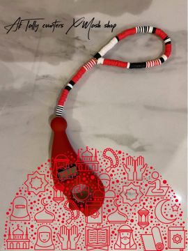 AK Tally counters | Handmade BY 2 sisters from Jordan |red