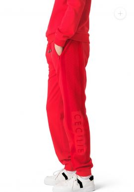 Cecilie copenhagen شماغ |full set |sweatpant + sweater|RED