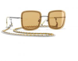 Chanel Square|Yellow Chains