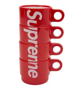 Supreme staking cups ( set of 4 ) | Red
